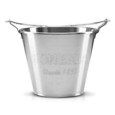 Alumiart Falcão - balde Bohêmia alto relevo de alumínio