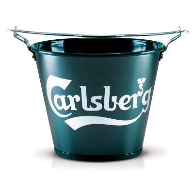 alumiart-falcao - Balde de alumínio Carlsberg