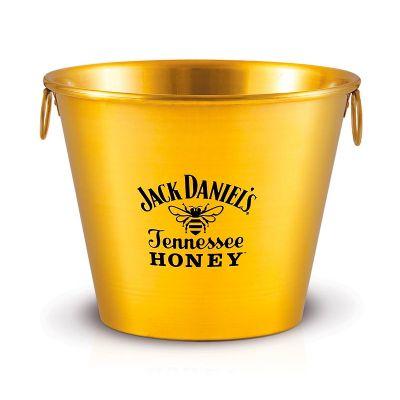 Alumiart Falcão - Balde de alumínio Jack Daniels Honey