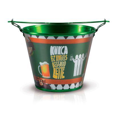 alumiart-falcao - balde para gelo amigos