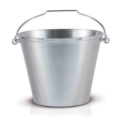 alumiart-falcao - Balde polido com alça