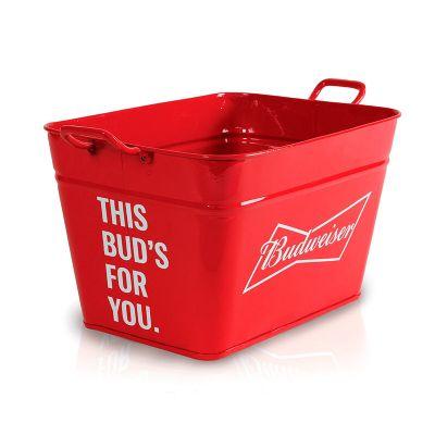 alumiart-falcao - Balde Budweiser retangular