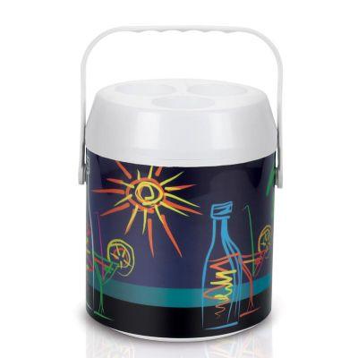 alumiart-falcao - Cooler térmico para 7 latas