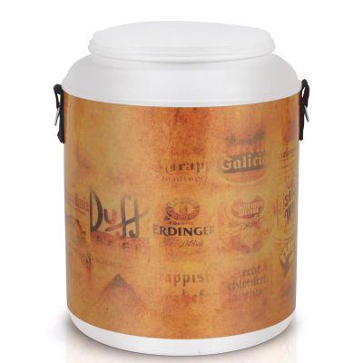 alumiart-falcao - Cooler para 12 ou 24 latas