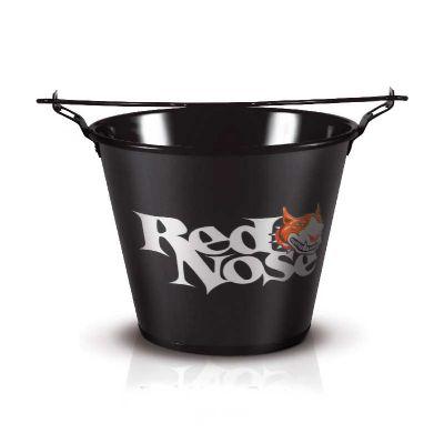 alumiart-falcao - Balde Red Nose preto