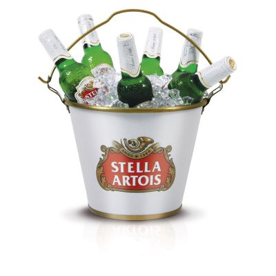 alumiart-falcao - Balde de gelo Stella Artois