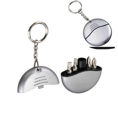 Asga Brindes - Chaveiro kit ferramenta com 4 peças
