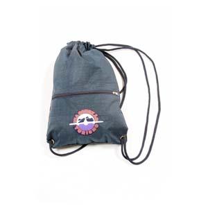 Atual Sport - Mochila saco em nylon com bolso frontal e gravação personalizada.