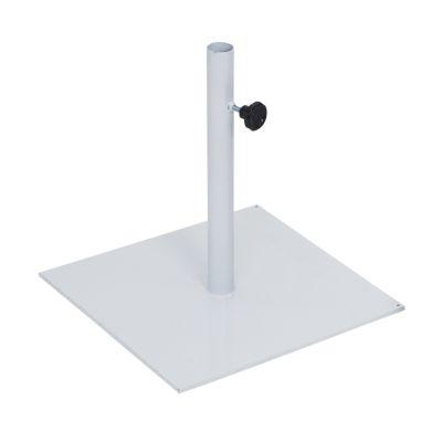 Black Sun - Base para ombrellone de ferro - 40cm X 40cm pintada em epóxi - 18Kg