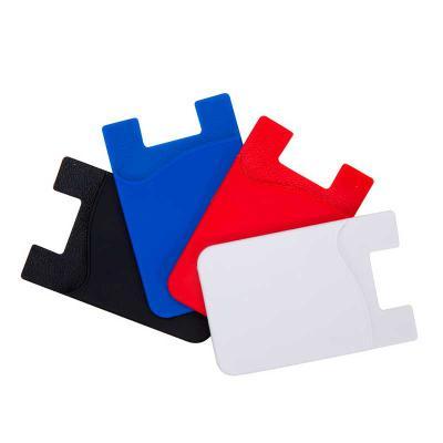 brindes-da-terra - Adesivo Porta Cartão de Silicone para Celular
