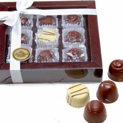 Caixa personalizada com bombons - Doce Pecado Chocolates Especia...