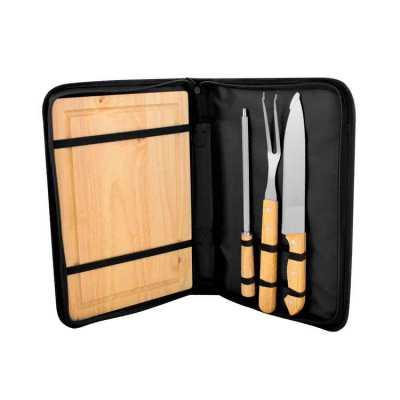 Kit para churrasco personalizado