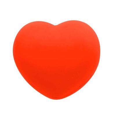 Com um ótimo custo benefício, o anti-stress emborrachado em formato de coração personalizado auxi...