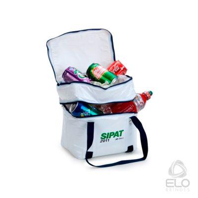elo-brindes - Bolsa térmica em PVC personalizado.