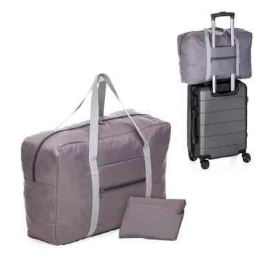 Com a bolsa de viagem em poliéster dobrável personalizada, sua empresa estará sempre presente em ...