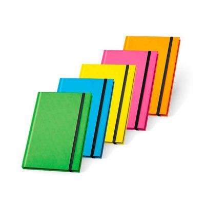 Desenvolvido em PU fluorescente, com capa dura, o produto vem com 96 folhas pautadas. Personalize...