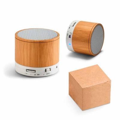 Caixinha de som bluetooth personalizada