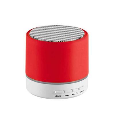 Com transmissão por bluetooth e leitor de cartões TF, nossa caixinha de som bluetooth personaliza...