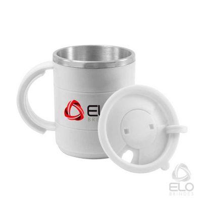 Elo Brindes - Caneca 450ml, inox e resina