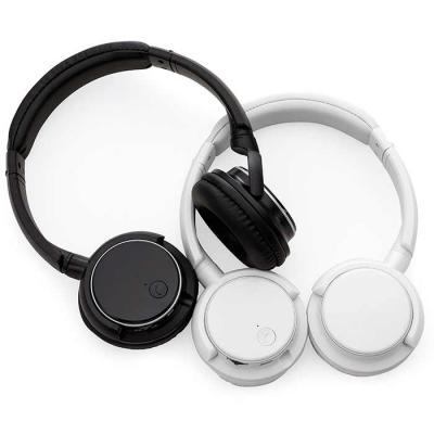 Fone de ouvido / headphone bluetooth personalizado para brindes criativos e úteis! Com haste ajus...