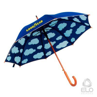 elo-brindes - Guarda-chuva com nuvem automático