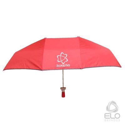 Elo Brindes - Guarda-chuva Duplo/Namorado