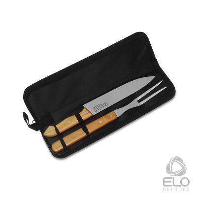 Elo Brindes - Kit para churrasco com 02 peças.