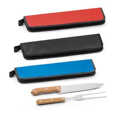 O kit churrasco com duas peças personalizado é um brinde corporativo que vai agradar em cheio a s...