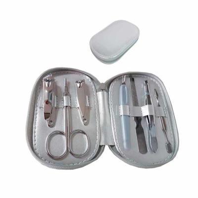 Kit manicure personalizado cor cinza
