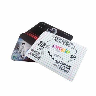 O mouse pad padrão personalizado é fabricado em PVC expandido, com 2,0 mm de espessura, com base ...