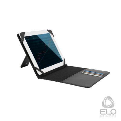 Elo Brindes - Pasta para tablet em couro sintético.