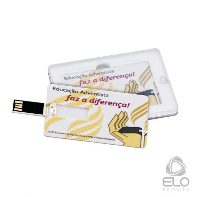 Elo Brindes - Pen card de 4GB ou 8GB.