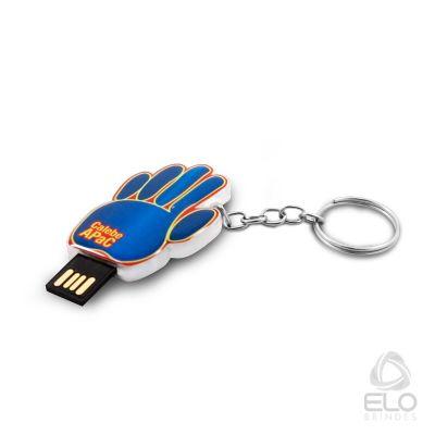 elo-brindes - Pen drive em acrílico personalizado.