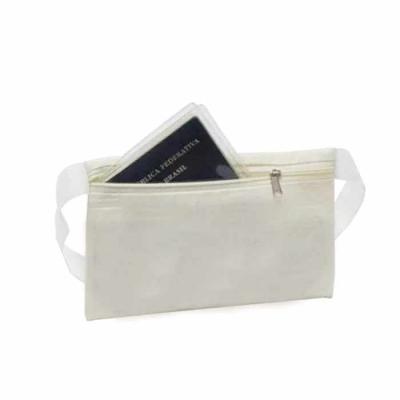 Confeccionado em algodão cru, a pochete personalizada vai ajudar seus clientes e colaboradores a ...