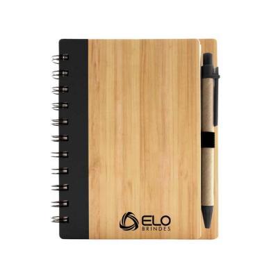Caderno ecológico personalizado / porta-recado