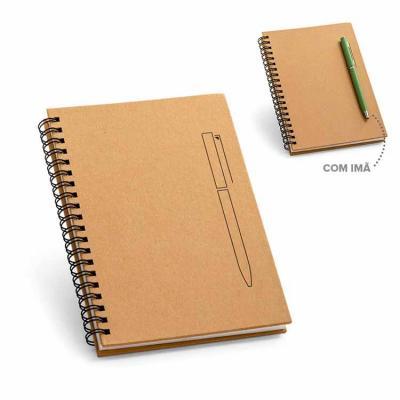 Compacto, o porta-recado / caderno wire-o personalizado é um produto perfeito para eventos ou par...