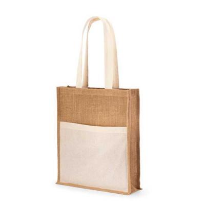 Com a sustentabilidade como valor primordial, a sacola em juta personalizada é ideal para marcar ...