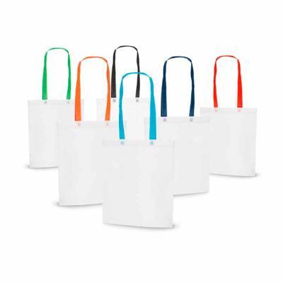 Prática e funcional, a sacola personalizada fabricada em Non-woven 80 g/m² é uma ótima pedida par...