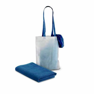 Produzida em veludo de algodão 320 g/m² nas cores azul, laranja e verde, conta com padrão impress...