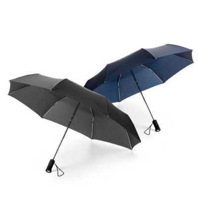Guarda-chuva dobrável Poliéster - Globo Brindes