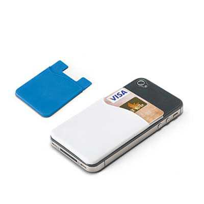 Porta cartões para celular Emborrachado