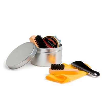 Kit de limpeza de sapatos - Globo Brindes