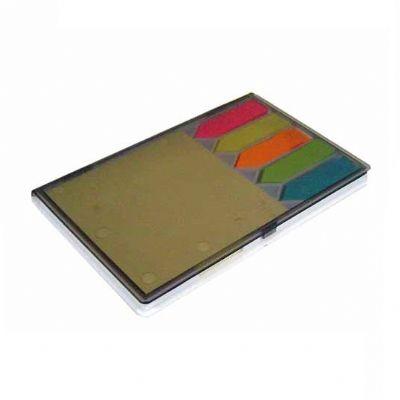 Globo Brindes - Estojo com bloco para anotação 13 x 9 x 1 cm