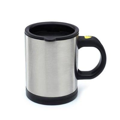 Caneca de metal 180 ml 9 x 10 x 6.7 cm - Globo Brindes