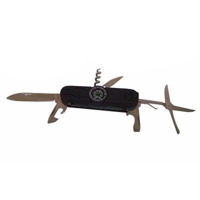 Canivete com bússola 9 x 3 x 2.3 cm