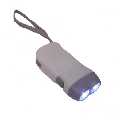Lanterna de plástico recarregável 10 x 5 x 2.5 cm