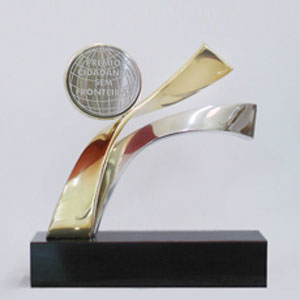 Formas do Fogo - Troféu Personalizado fundido em bronze e alumínio.