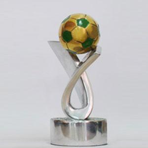 formas-do-fogo - Troféu Personalizado - Modelo Laço com Bola de Futebol.