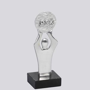 """formas-do-fogo - Troféu Personalizado - Modelo """"Oscar com medalha""""."""