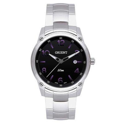 Orient Relogios - Relógio de pulso personalizado com visor preto.